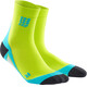 cep Short Socks Men lime/hawaii blue
